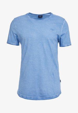 CLARK - Jednoduché triko - bright blue