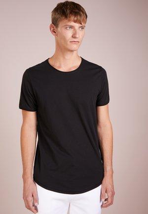 CLARK - Jednoduché triko - schwarz