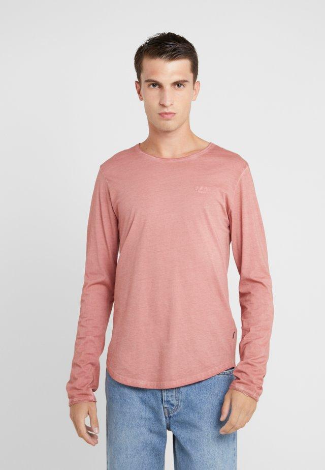 CARLOS - Långärmad tröja - red