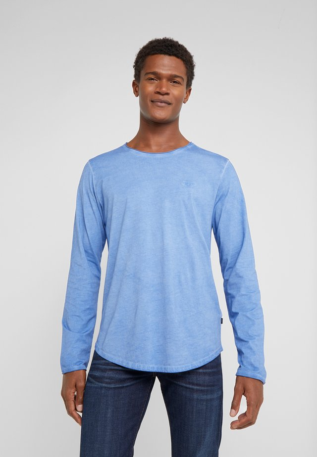 CARLOS - Long sleeved top - blau