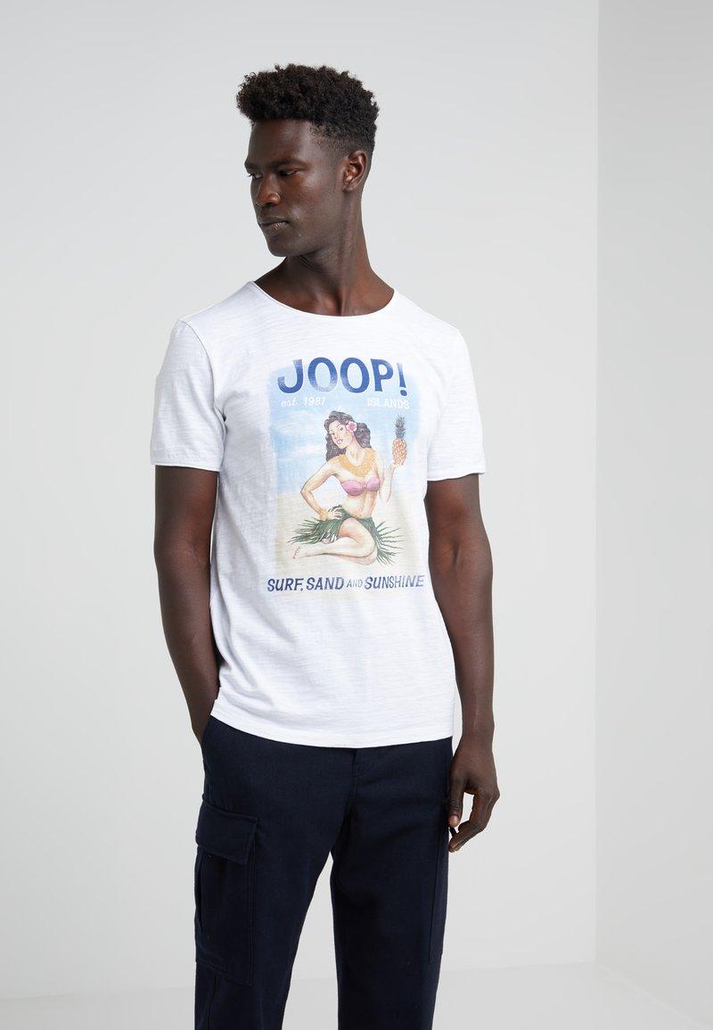 JOOP! Jeans - ARTHUR - T-Shirt print - white