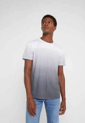 ANOUK - T-SHIRT// FARBE: WHITE/BLUE - Triko spotiskem - grey