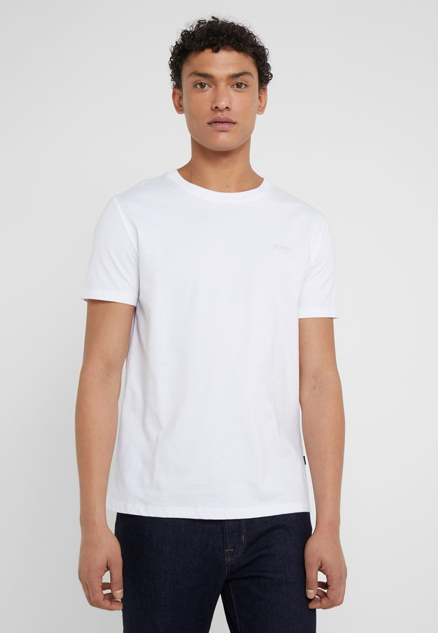 ALPHIS  - T-shirt - bas - weiß