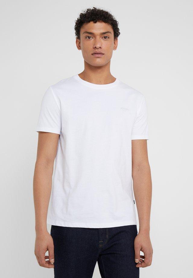 ALPHIS  - T-shirts - weiß