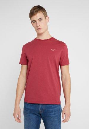 ALPHIS  - T-shirts basic - bordeaux