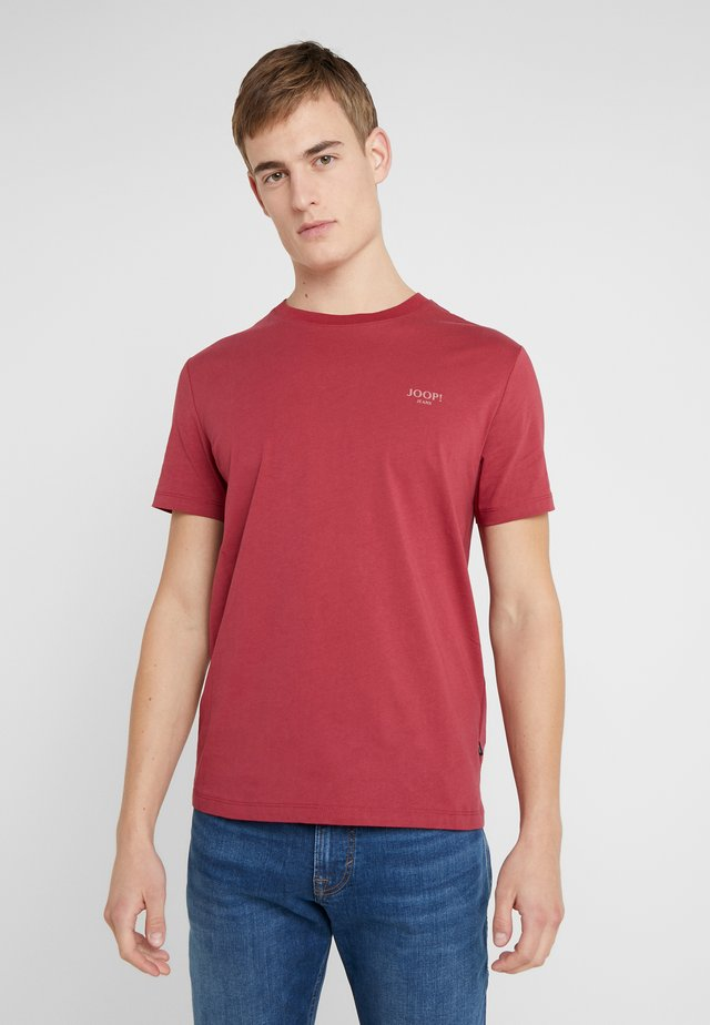 ALPHIS  - Basic T-shirt - bordeaux