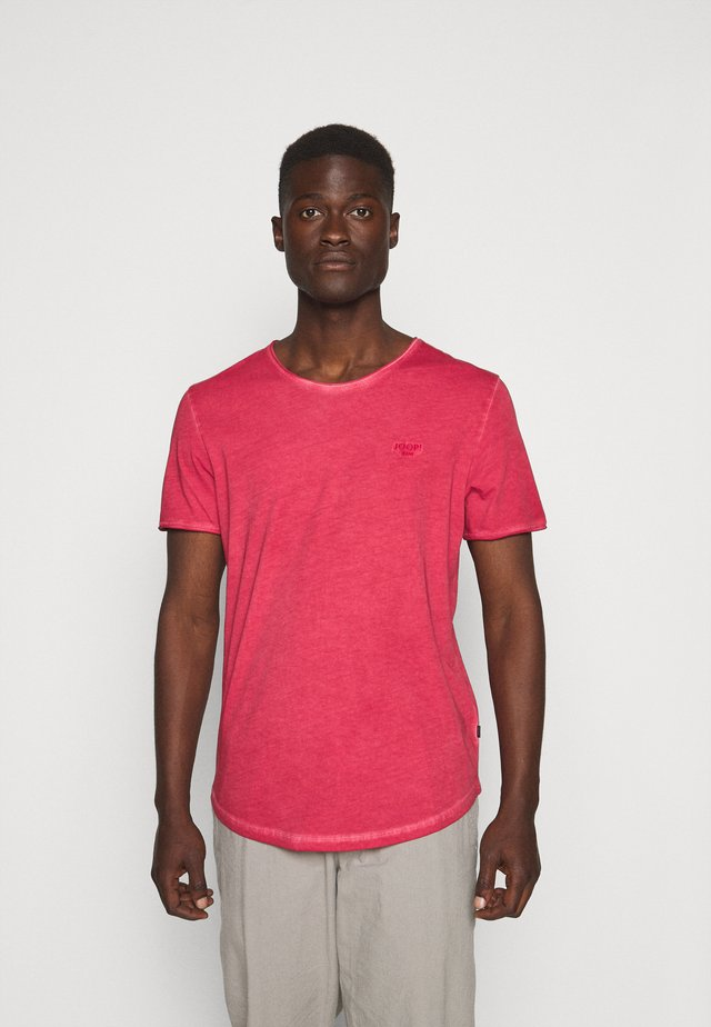 CLARK - T-shirt med print - red