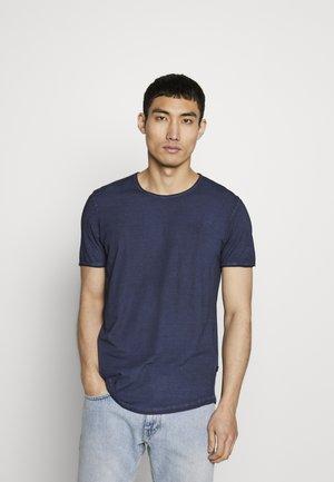CLARK - Print T-shirt - navy