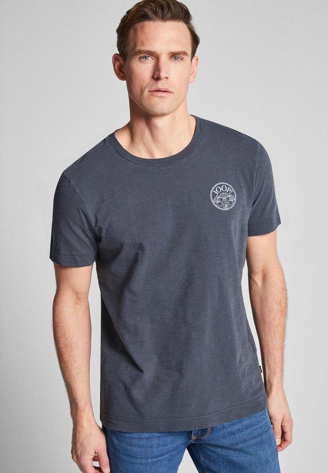 COHEN - Print T-shirt - blue