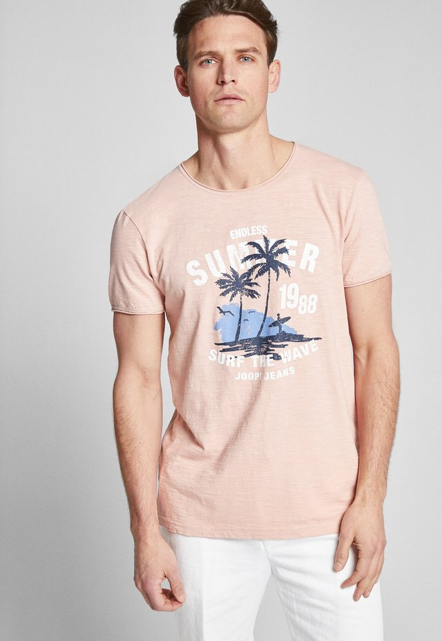 CARLITO - T-Shirt print - light pink