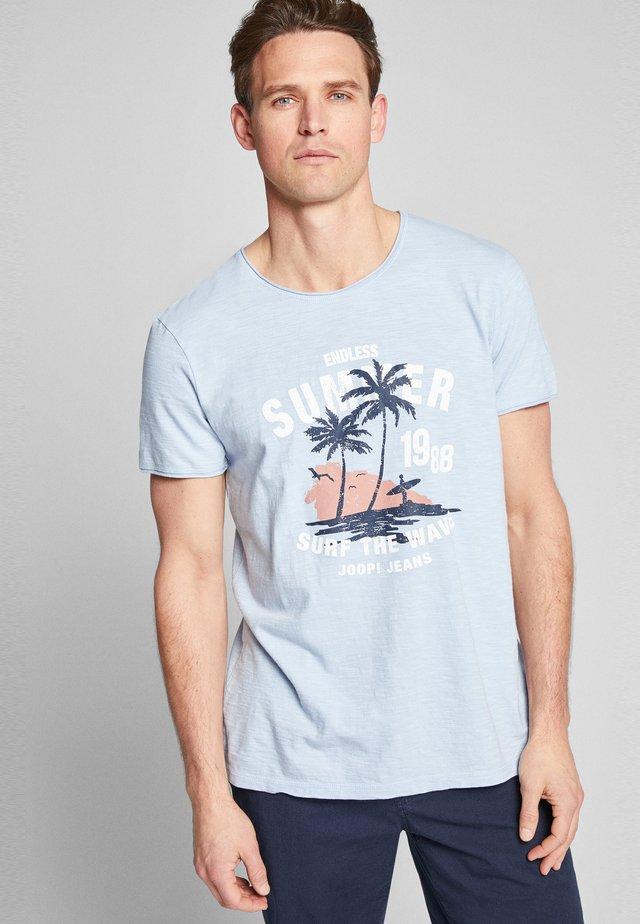 CARLITO - T-shirt print - light blue