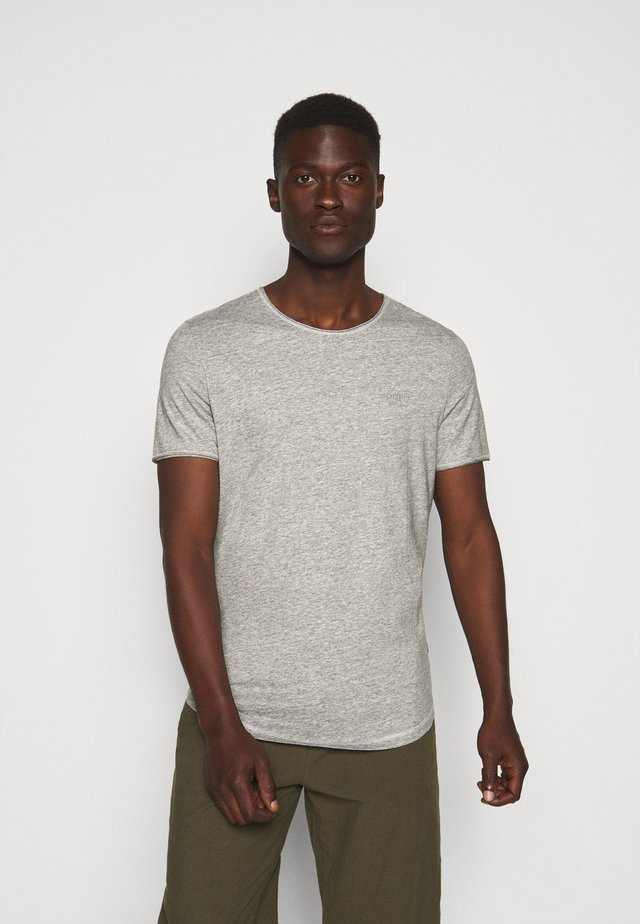 CLIFF - T-shirt basic - silver