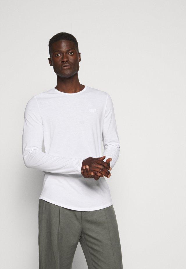 CHARLES - Långärmad tröja - white