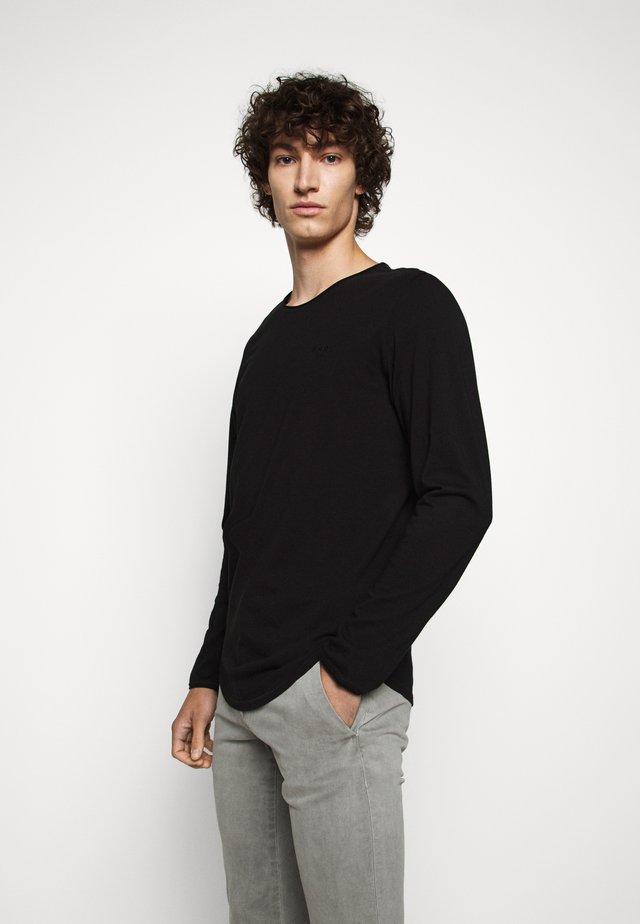 CHARLES - Langarmshirt - black