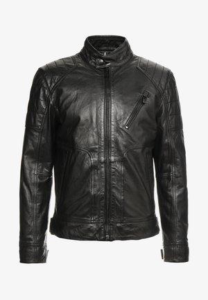 LIMA - Veste en cuir - black
