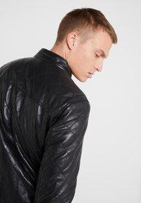 JOOP! Jeans - MANTA - Lederjacke - black - 4