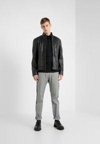 JOOP! Jeans - LIMA - Læderjakker - black - 1