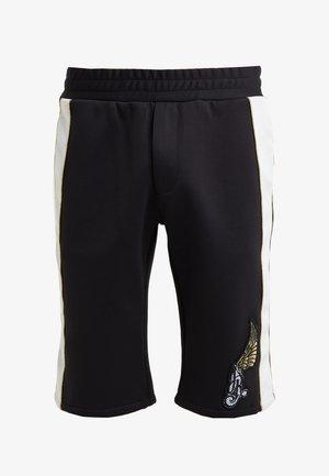 HOARE - Teplákové kalhoty - black