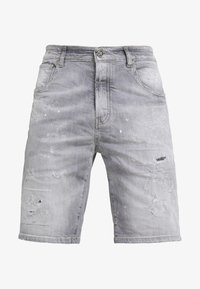 John Richmond - BERMUDA NEILY - Shorts di jeans - grey - 4