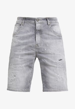 BERMUDA NEILY - Denim shorts - grey