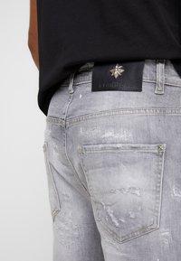 John Richmond - BERMUDA NEILY - Shorts di jeans - grey - 5
