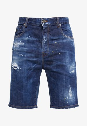 BERMUDA MIRA - Jeans Shorts - blue
