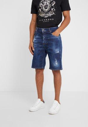 BERMUDA MIRA - Shorts di jeans - blue