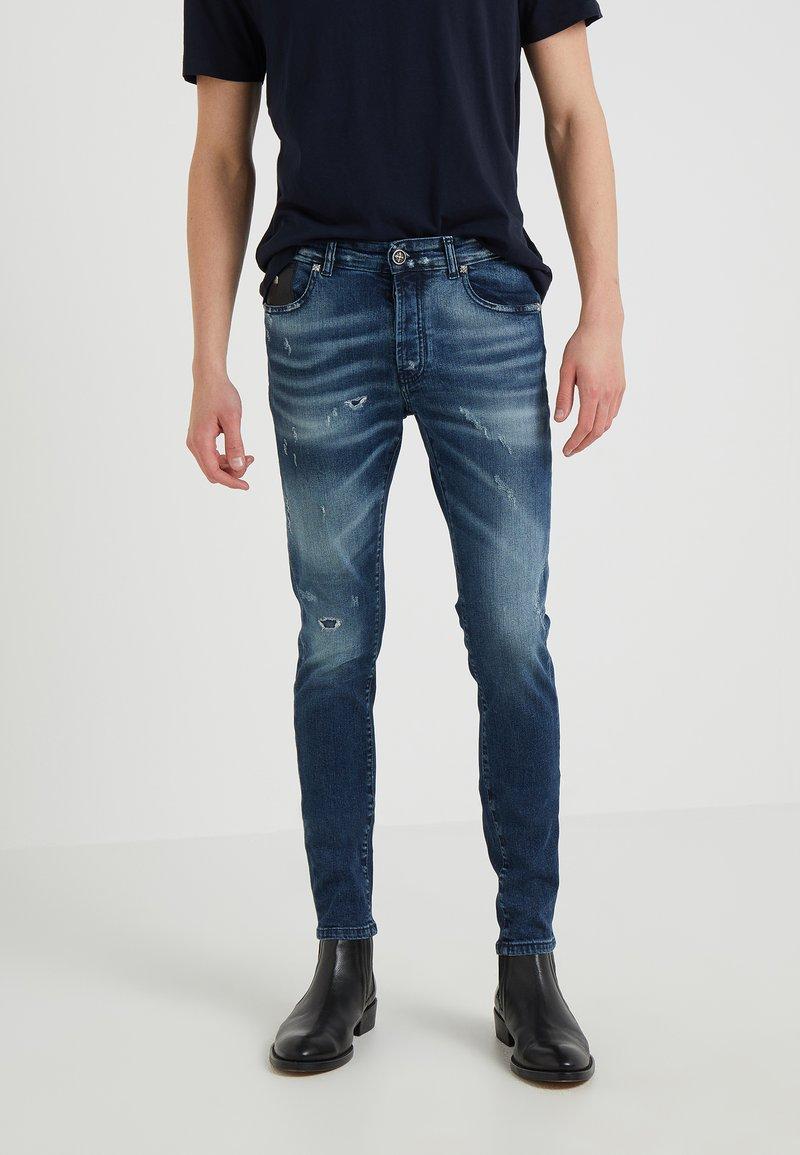 John Richmond - ENGLEHEART - Jeans Slim Fit - indaco dark