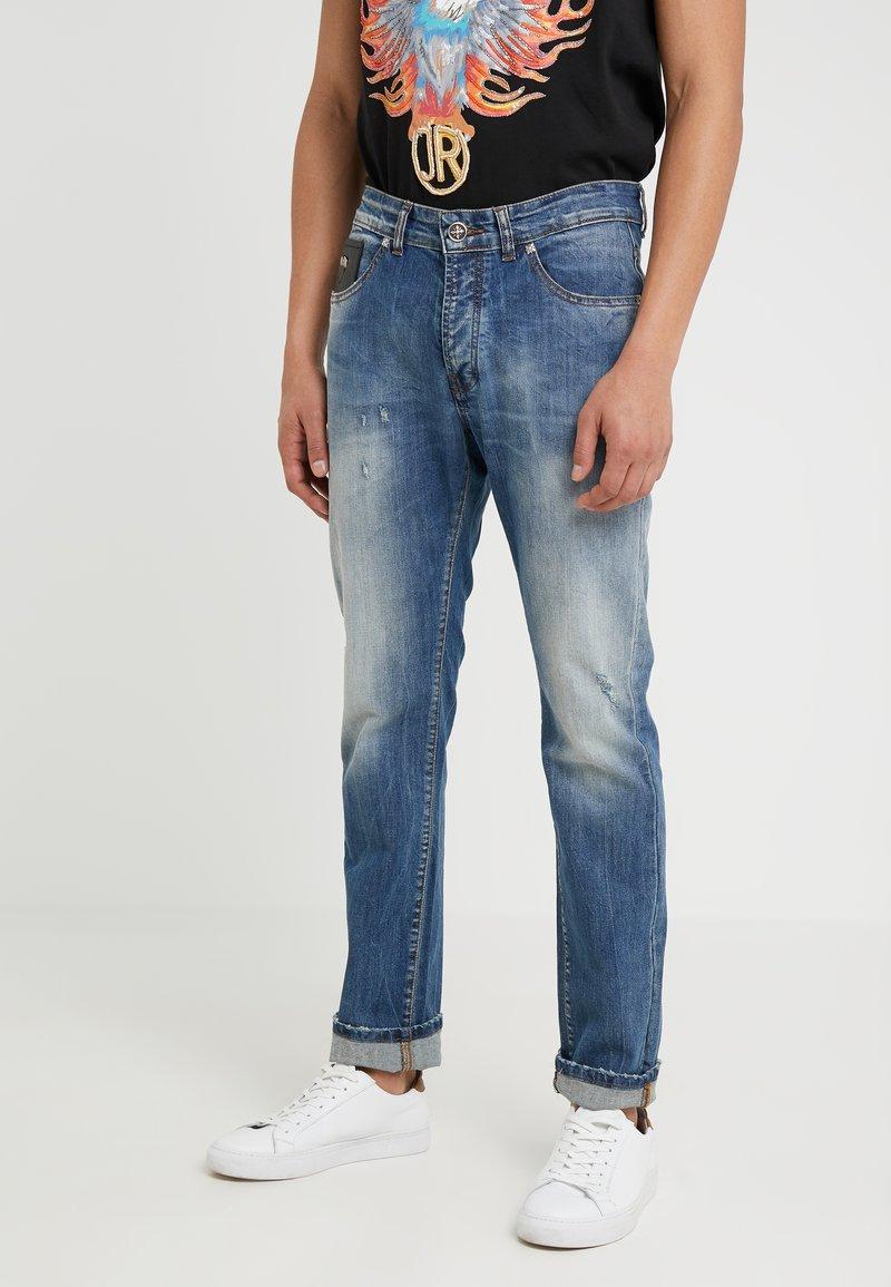 John Richmond - FITZGERALD - Slim fit jeans - medium blue
