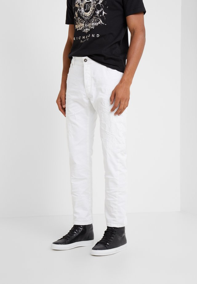 JEANS GREGORY - Jean slim - white