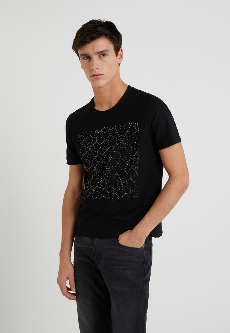 John Richmond - HOCNEY - Print T-shirt - black