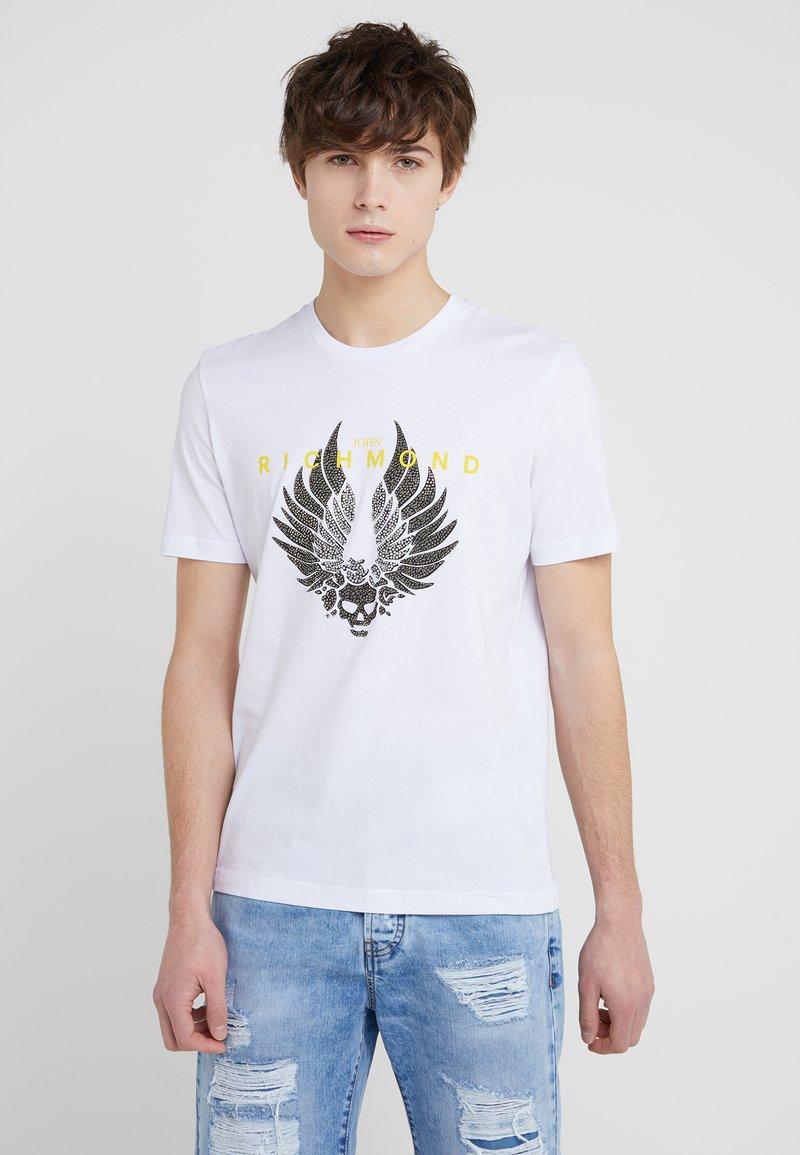 John Richmond - TIMESQUARE - T-shirt imprimé - white