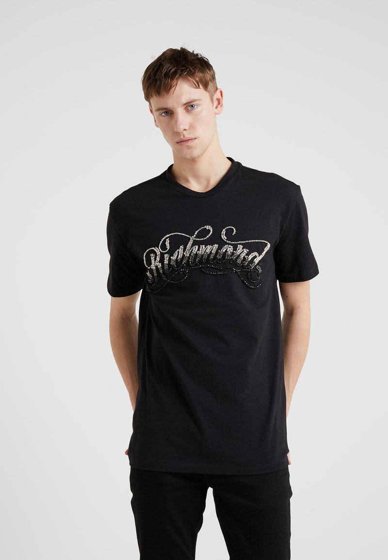 John Richmond - MACKINTOSH - Print T-shirt - black