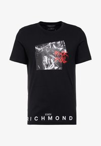John Richmond - T-shirt con stampa - black - 3
