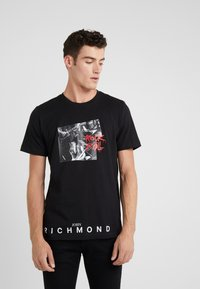 John Richmond - T-shirt con stampa - black - 0