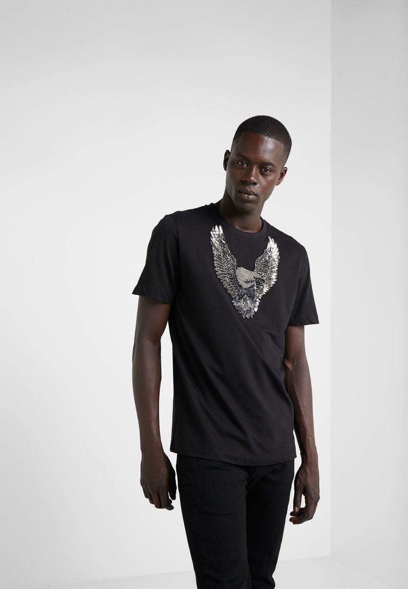 John Richmond - Print T-shirt - black