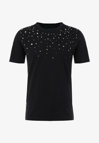John Richmond - T-shirt con stampa - black - 4