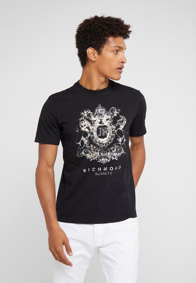 DELBESIO - T-Shirt print - black