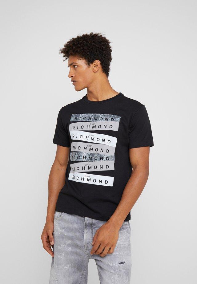 VALENTINA - T-shirts print - black