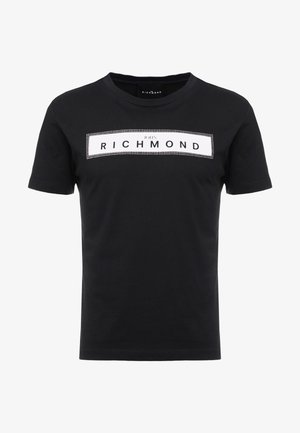 ZELYAEVA - T-shirts print - black