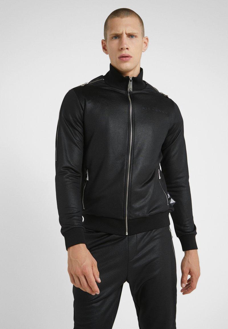 John Richmond - Zip-up hoodie - black