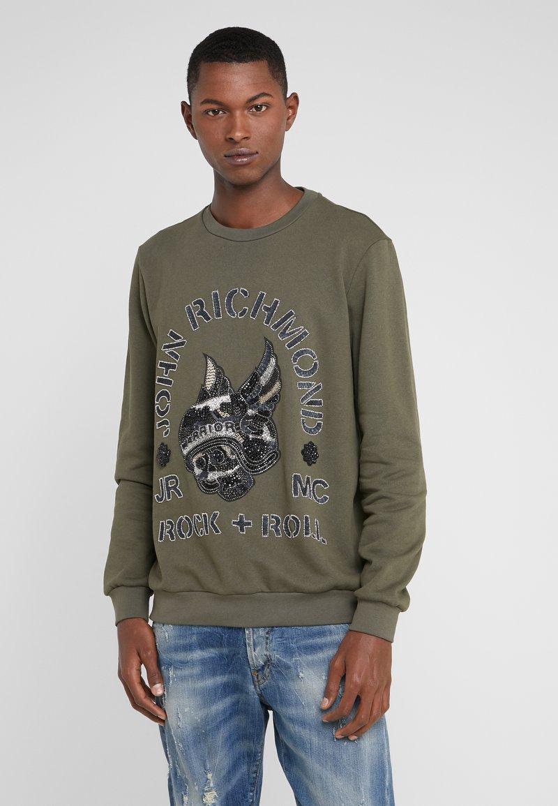 John Richmond - Sweatshirt - khaki
