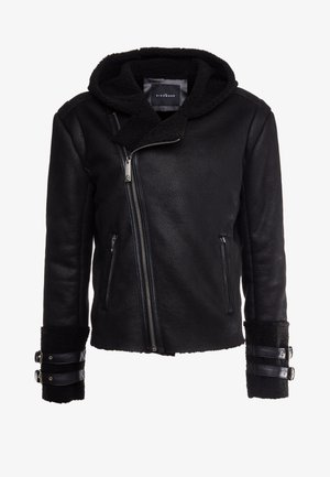 JACKET JARVIS - Giacca in similpelle - black