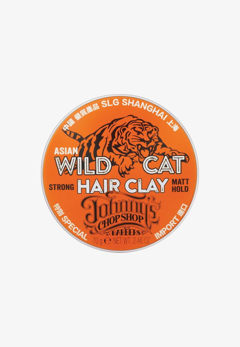 Johnny's Chop Shop - WILD CAT, HAIR CLAY 70G - Styling - -