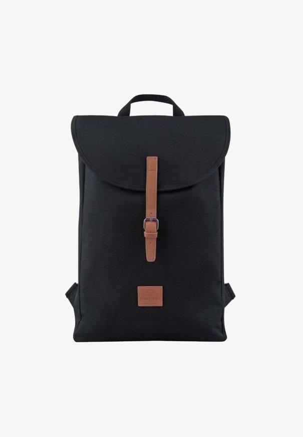LIAM - Rucksack - black/brown