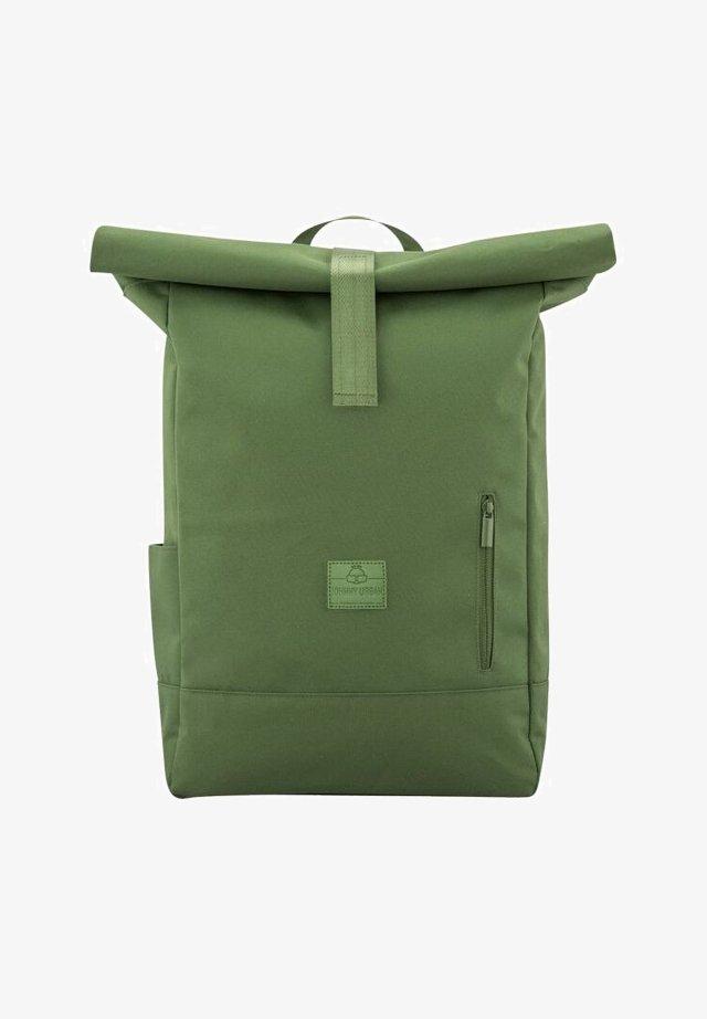 ROLL TOP AARON - Tagesrucksack - green