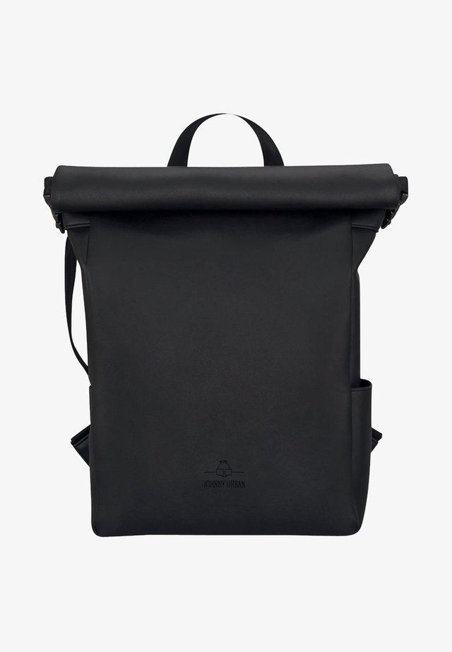 ROLL TOP HENRY - Tagesrucksack - black