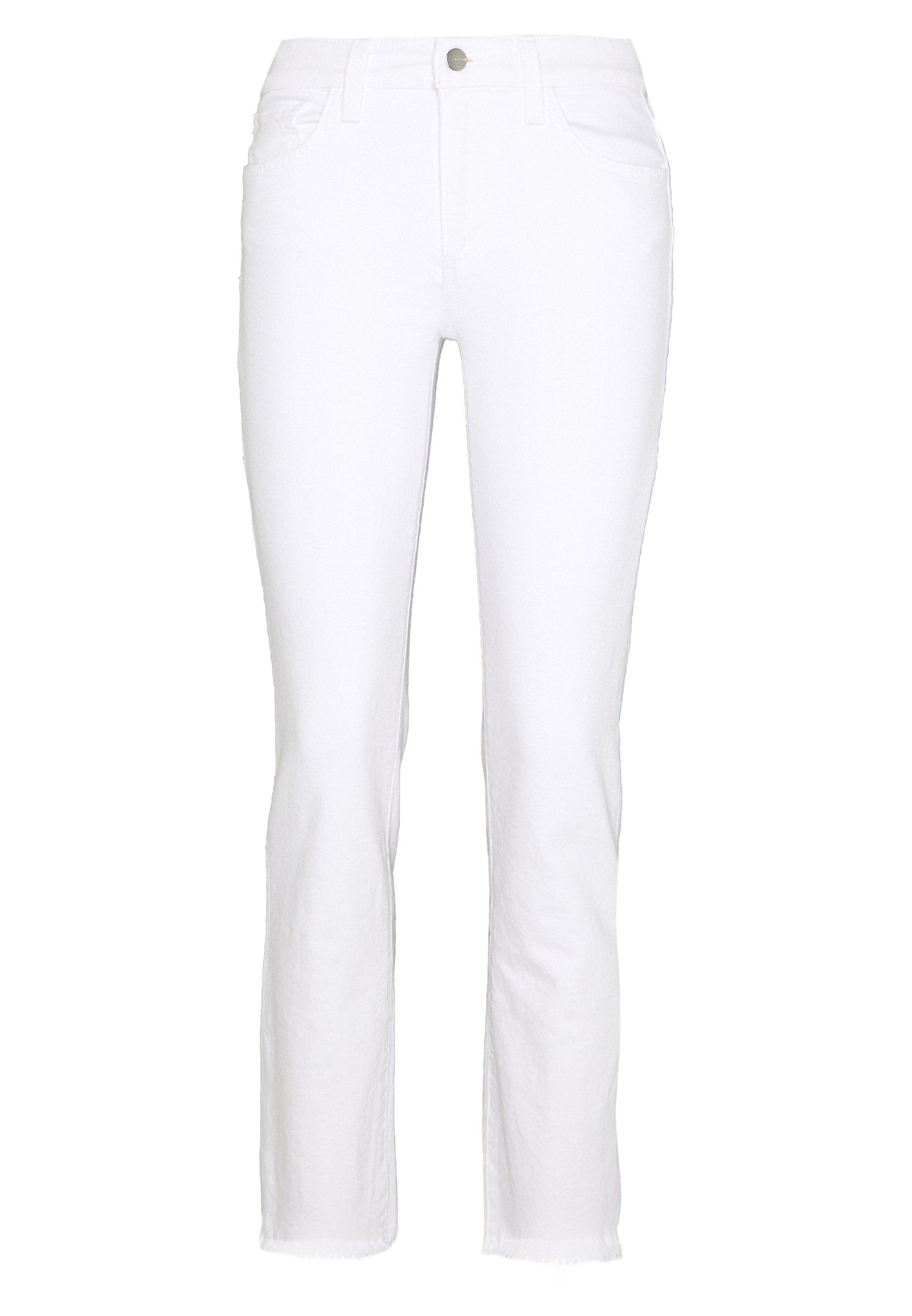 Joe's Jeans THE LARA MR CIGARETTE ANKLE CUT - Jeans slim fit - white