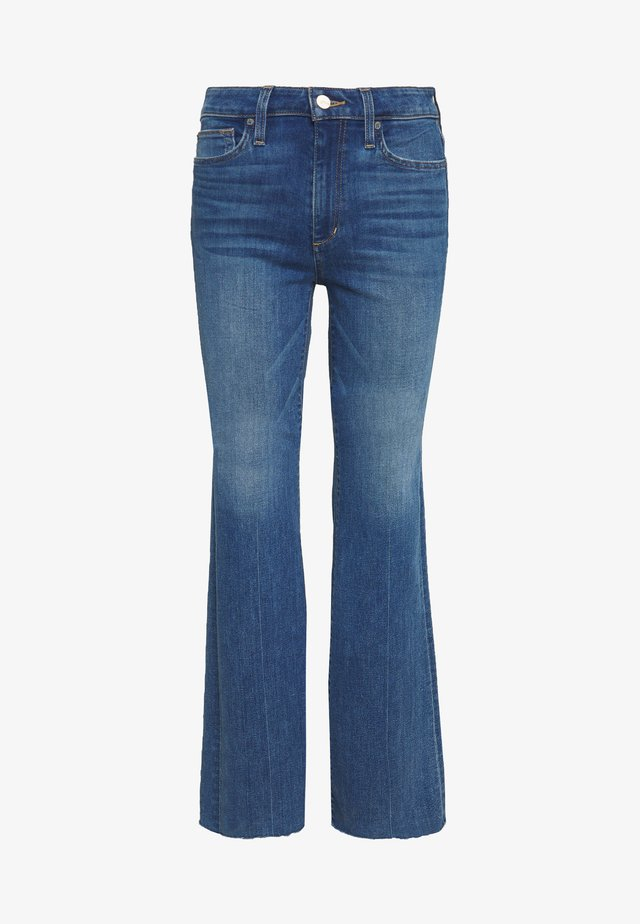 THE MOLLY CUT - Flared jeans - fennel