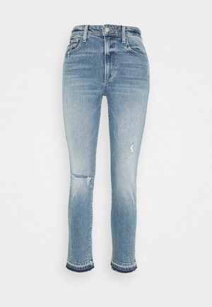 THE LUNA CIGARETTE ANKLE - Slim fit jeans - light blue denim